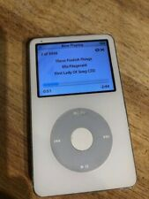 Apple iPod Classic 5th Generation White 30 Gb Fair Condition + Music