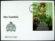 2001 MNH GAMBIA WIZARD OF OZ FDC STAMPS THE GREEN MAIDEN 100TH ANNIVERSARY BAUM
