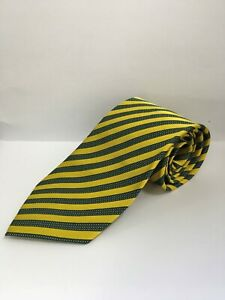 OFFICIAL NORWICH CITY FC YELLOW & GREEN TIE