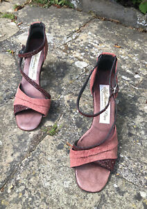 Ladies Heavenly Dance Shoes Hand Made UK 6 Ruby Red