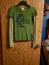 Women's Next Era Green Long Sleeved Shirt Size M