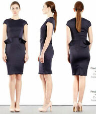 Cocktail Peplum Synthetic Dresses for Women