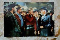 Kino Postkarte AK UNTER GEIERN 1964 Götz George Renato Baldini Karl May Western