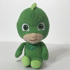 """Pj Masks Gecko Just Play Llc Plush Stuffed Animal Beanie Green 6"""" Tall"""