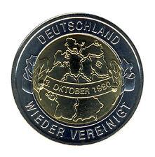 DEUTSCHLAND - 20 Jahre WIEDERVEREINIGUNG - Deutschlandkarte - ANSEHEN