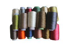Sewing Thread Silk for embroidery Assorted Colors gitti Lot Of 20 Spools