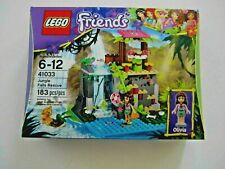 41033 LEGO Friends Jungle Falls Rescue 183 Pcs Sealed New In Box - Heartlake