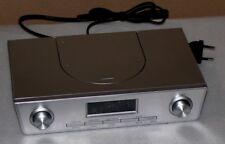 Küchen Unterbauradio Terris KCR261 Stereo Radio PLL-Tuner LCD Alarm UKW Silber
