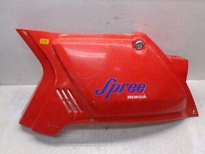 1984 Honda NQ50 NQ 50 Spree OEM Red Left Side Fairing Body Cover 83600-GK8