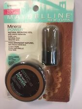 Maybelline Mineral Power Natural Bronzing Veil, SUNKISSED Bronzer .14oz NEW