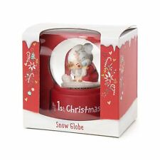 Me to You Tiny Tatty Teddy Baby's First Christmas Snow Globe