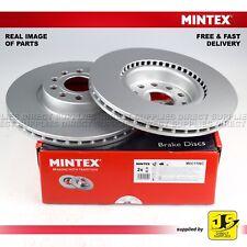 2X MINTEX DISC BRAKE FRONT AUDI A1 A3 Q2 Q3 TT SEAT SKODA OCTAVIA SUPERB YETI VW