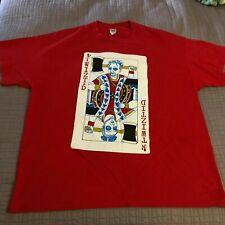 Mens Vintage Twiztid Card T-Shirt Size S- 2XL Blackjack Rare Red Casino