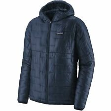 BNWT Men's  Patagonia Micro Puff Hoody Navy Jacket Size Extra Large - XL