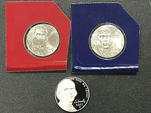 2005:US Mint-Sold Out-Sealed-4U8 Westward Journey Bison Nickels-2 40 Count P/&D