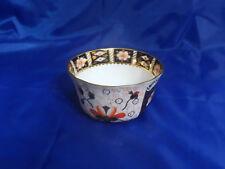 "Royal Crown Derby IMARI #2451 CRANBERRY BOWL 5-1/2"" Blue Panels, Gold Accents"