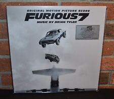 FURIOUS 7  - Soundtrack O.S.T. Limited 280G 2LP COLORED VINYL #'d Gatefold NEW!