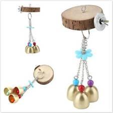 Pet Bird Swing Bell Parrot Toy Wooden Climbing Ladder Birds Supplie Tool Toy FM