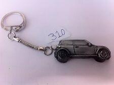 Mini Cooper 3D snake keyring great pewter effect keyring ref310