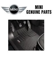 NEW Mini Countryman R60 1.6L Black All Weather Front Rubber Floor Mats Genuine