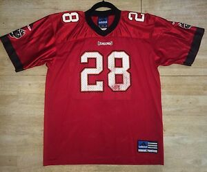 Warrick Dunn #28 Buccaneers Youth XL 18 20 Football Jersey Adidas Authentic NFL