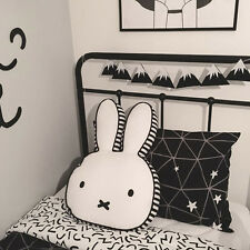 Rabbit Plush Toy Cushion Kawaii Animal Bunny Baby Pillow Kid Bedroom Doll Decor