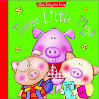 Three Little Pigs (Giant Storytime Books), , Very Good Book