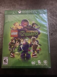 LEGO DC: Super-Villains - Standard Edition (Microsoft Xbox One, 2018) Brand New