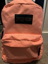 NWOT Jansport Peach Colored Backpack