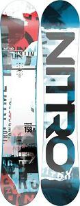 Nitro Prime Collage Men's Snowboard 158 cm, All Mountain Directional, New 2022
