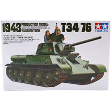 Tamiya T34/76 Tank Model Set (Scale 1:35) 35059 NEW
