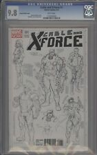 CABLE AND X-FORCE #1 - CGC 9.8 - LARROCA CHARACTER SKETCH VARIANT - 1133205005