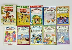 LOT of 10 HENRY AND MUDGE Books by Cynthia Rylant EASY READERS
