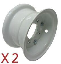 "Set of Two 5"" Split Rims 2-13/16"" Bolt Pattern For Go Kart Wheel Parts Cart"