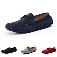 Mens Slip on Loafers Shoes Leisure Leather Driving Moccasins Pumps Soft Casual