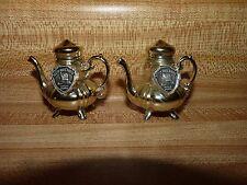 Betsy Ross House Salt and Pepper Shakers Fancy Tea Pot Philadelphia Pa souvenir