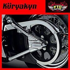 Kuryakyn Chrome Swingarm Covers for 00-'07 Softail 8256