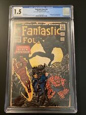 Fantastic Four 52 First Appearance T'Challa Black Panther CGC 1.5