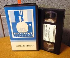 GERVAISE Rene Clement 1956 Émile Zola adaptation Maria Schell alcohol abuse VHS