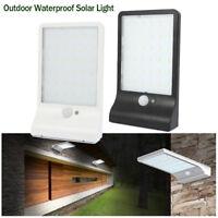 Lumineux LED solaire jardin extérieur mur sécurité PIR Motion Sensor imperméable