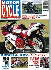 MCI 90 Nov 1992 Bimota DB2 RD350R Manx Norton Xanthus K75 VS800 XV750 883 Hugger