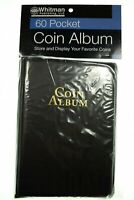 Whitman Coin Album 60 Pocket for 2X2 holders (Coin Wallet, Coin Book)