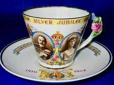 Paragon RARE King George V Queen Mary THE SILVER JUBILEE 1935 Cup & Saucer