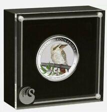 Kookaburra 2021 color Australien 1 Dollar World Money Fair Berlin 1 Oz Silber ST