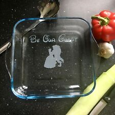 Disney Casserole Cooking Dish Glass Wedding Gift New House Warming Personalised