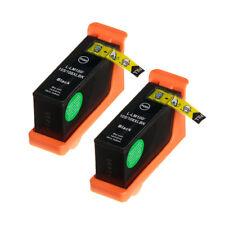 Ink Cartridges Compatible For Lexmark 100xl 105xl 108xl Pack of 2 Black Inkjet