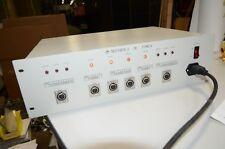Motorola 4NIC 12 & 24 Volt Rack Mount Linear DC Power Supply