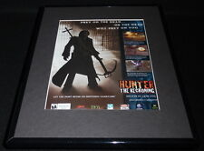 Hunter the Reckoning 2003 Framed 11x14 ORIGINAL Advertisement PS2