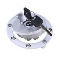Fuel Cap Gas Tank Cover Lock Key For Honda CBR 600 1000RR RVF400 VFR400