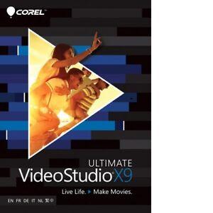 Corel VideoStudio Ultimate X9 - VSPRX9ULMLMBCN